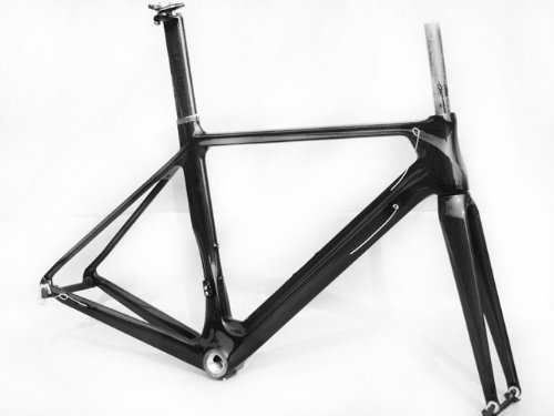 Full Carbon 700c Road Bike Frame 56cm Fork Seatpost Clamp tsunami chameleon fixed gear frameset aluminium frame with carbon fork 700c x 50cm 52cm high quality