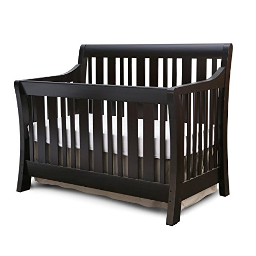 Nursery Smart Darby 4-in-1 Convertible Crib, Espresso