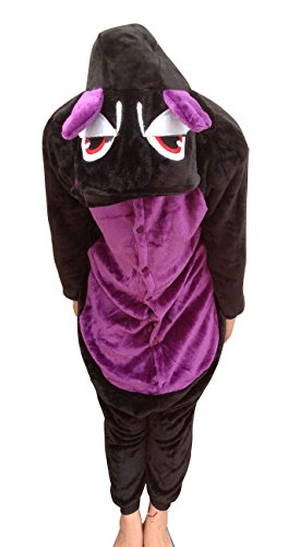 Black Dragon Kigurumi Costume