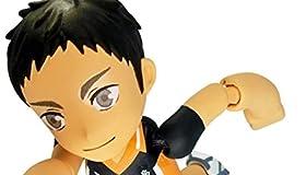躍動素体 プレイギュア フューチャリング ハイキュー!!  PG03 澤村大地 全長 約 8cm 塗装済み 可動フィギュア