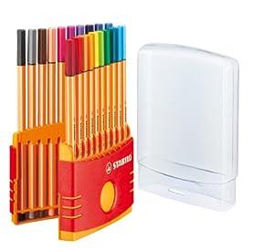 Stabilo ColorParade 20 feutres point 88 - coloris assortis