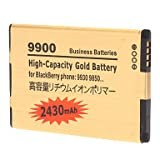 3.7V 2430mAh Li-ion Polymer Battery Pack for BlackBerry Bold 9900 and Others (Golden)