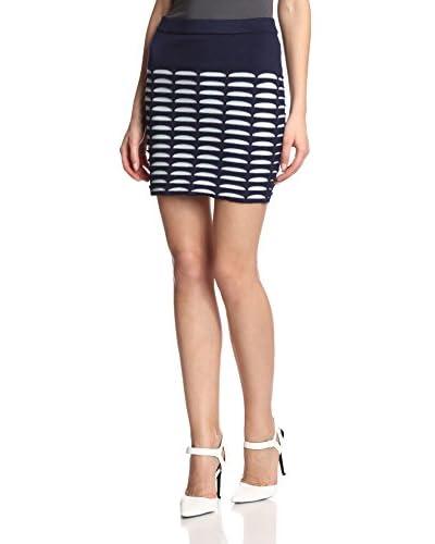 Romeo & Juliet Couture Women's Short Cutout Skirt