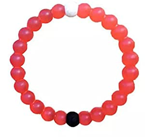 Ship From US 5 Colors Silicone Bracelets Expedited Shipping Option Are Available for Arrive Before Christmas As Gift (M, Red)