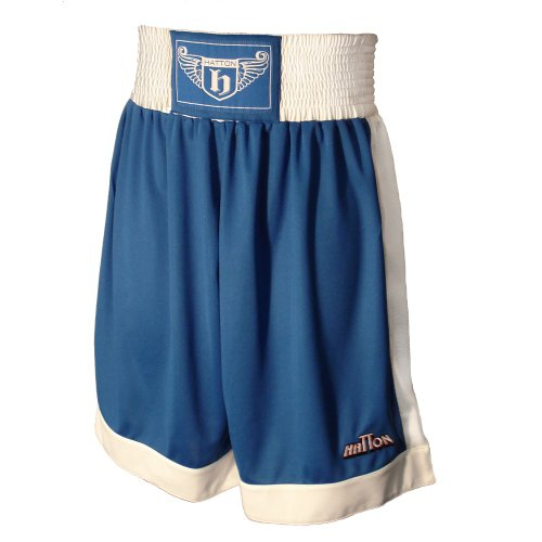 Hatton Boxing Polyester Club Shorts Blue Youth