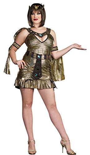 Dreamgirl Womens Fancy Halloween Naughty On The Nile Egyptian Queen Sexy Costume