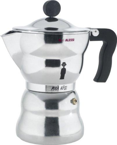 Alessi Moka Stovetop Espresso Maker – 6 Cups