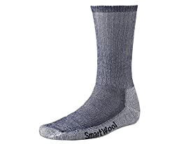 Smartwool Men's Hiking Medium Crew Sock (Small, Navy)