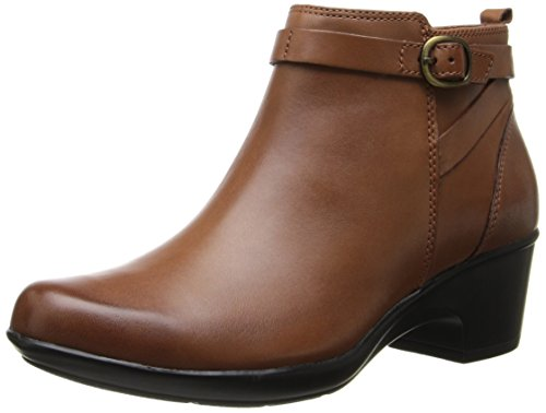 Clarks Women's Malia Hawthorn Boot,Tan,9 M US