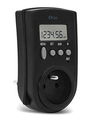 OTIO 730102 Contrôleur de consommation électrique CC 5000 Noir