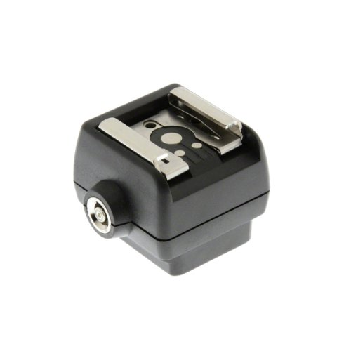 Hot Shoe Adapter for Sony Alpha / SLT. Converts Sony hotshoe to an industry standard hot shoe.