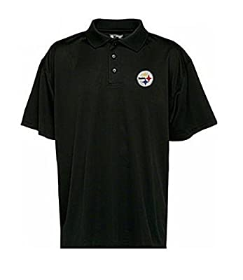 NFL Team Poly Cotton Blend Synthetic Solid Color Golf Polo Shirt Mens Sizes