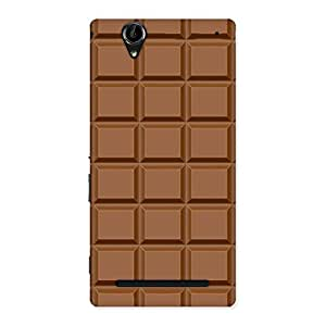 Impressive Classic Chocolate Back Case Cover for Sony Xperia T2