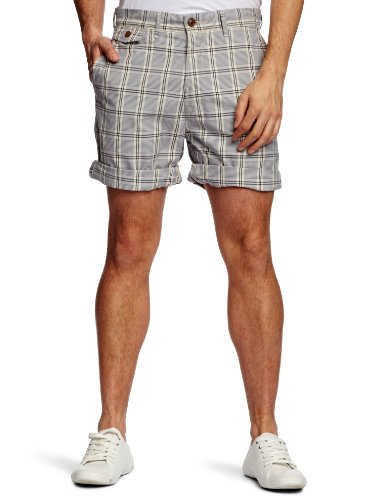 Replay M9437 Men's Shorts Blue Check W30IN