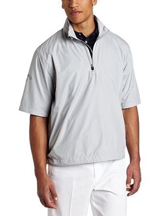 Callaway Golf Men's Short Sleeve Wind Shirt (Highrise, Medium)