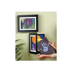 """Easy Change Artwork Frame - Black - Fits 8.5"""" x 11"""" Artwork. Frame Measures 13.5"""" x 11"""" x 1 3/4"""""""