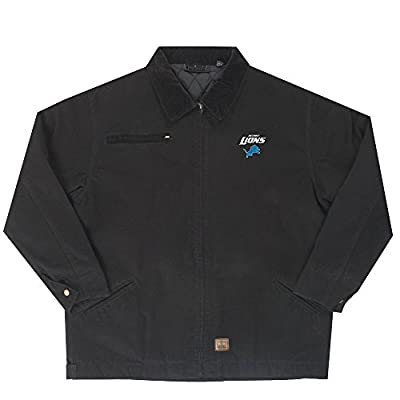 Detroit Lions Tradesman Canvas Quilted Jacket