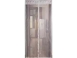 Provence outillage 5244 mosquitera para puerta con - Imanes para puertas ...