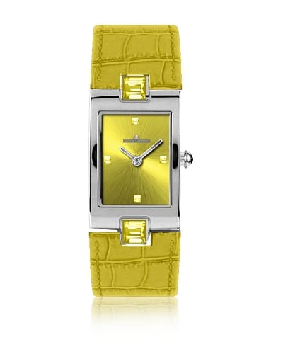 Jacques Lemans Reloj Vedette 1-1423 Amarillo 20 x 31 mm