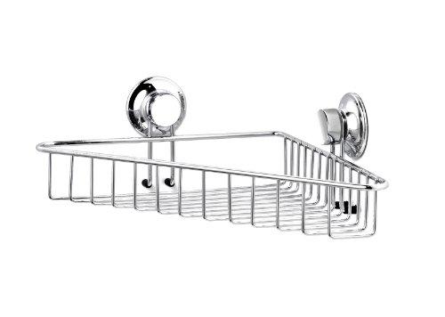 Everloc EL-10201 Corner Storage Basket, Chrome