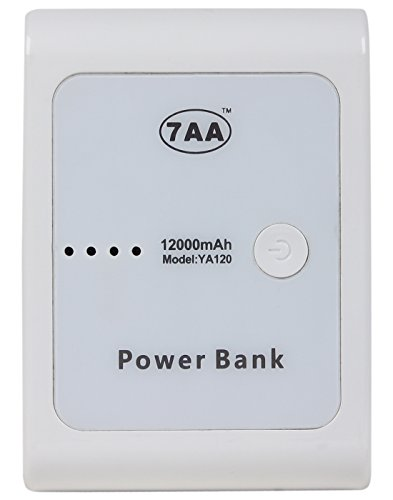 Mozee 12000 MAh White Power Bank