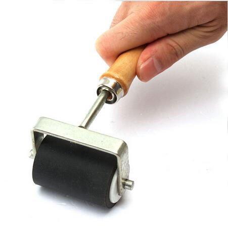 yosoo-deluxe-hard-rubber-brayer-roller-heavy-duty-steel-frame-art-craft-tool-easily-spread-ink-glue-