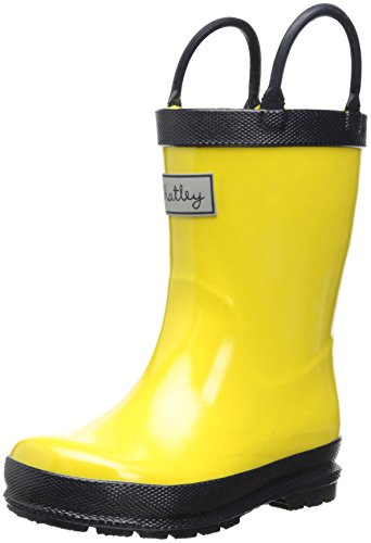 Hatley Little Boys' Rainboots Yellow, Yellow, 7 front-751761