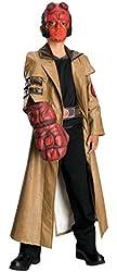Boys Hellboy Deluxe Kids Child Fancy Dress Party Halloween Costume