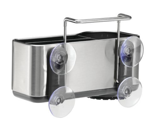 Simplehuman Sink Caddy Brushed Stainless Steel Rear ...