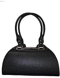 Knott Designer Black Hand Bag For Women