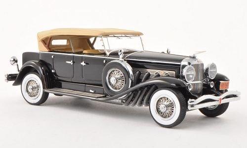 duesenberg-modello-j-tourster-derham-nero-beige-1930-modellolo-di-automobile-modellolo-prefabbricato