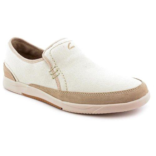 Clarks Vulcan Juno Loafers Shoes Beige Mens UK 6.5