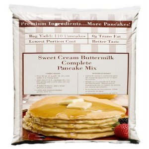 Heartland Sweet Cream Buttermilk Pancake - All In One, Complete Mix - 80 Ounce Bag (Pack of 1) 5 lbs.