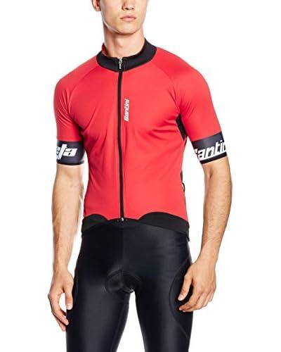 Santini Maillot Ciclismo Beta Windstopper Rojo