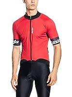 Santini Maillot Ciclismo Beta Windstopper (Rojo)
