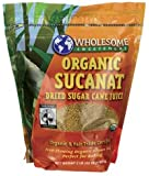 Wholesome Sweeteners - Organic Sucanat, 2 lb crystals