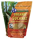 Wholesome Sweeteners Organic Sucanat Brown Sugar -- 2 lbs