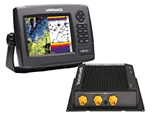 Lowrance HDS-7 GEN2 Plotter Sounder, with 6.4-inch LCD, Insight USA Cartography,... by Lowrance