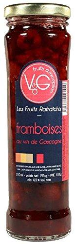 Framboises au vin de gascogne 21 cl