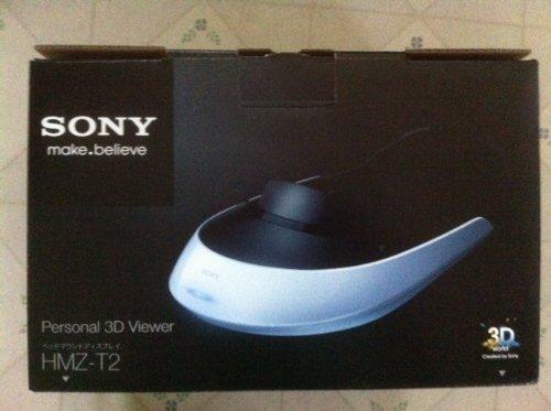 "SONY 3D対応ヘッドマウントディスプレイ ""Personal 3D Viewer"" HMZ-T2"