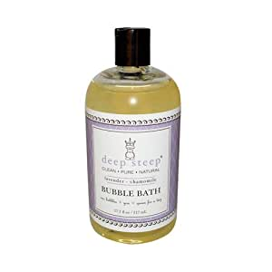 Deep Steep Bubble Bath - Lavender Chamomile - 17.5 Oz
