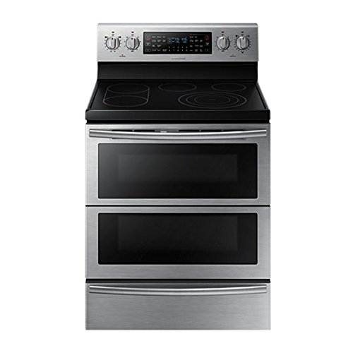 Samsung NE59J7850WS 30 Self-Cleaning Freestanding Electric Double Range (Samsung Double Oven Stove compare prices)