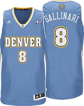 NBA Denver Nuggets Danilo Gallinari Revolution 30 Road Swingman Jersey by adidas