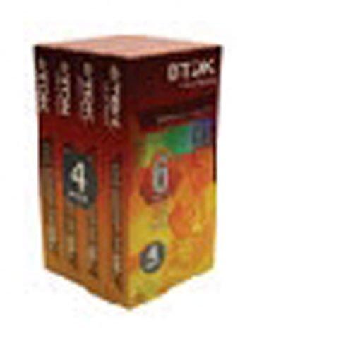 4pk 120minute Standard Grade Vhs Tape