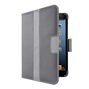 Belkin Striped Cover / Case with Stand for Apple iPad mini (Gravel) from Belkin Components