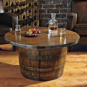 Wine Barrel Coffee Table.Wine Barrel Coffee Table Infobarrel
