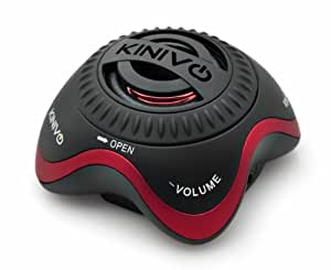 Kinivo ZX100 Mini Portable Speaker with Rechargeable Battery and Enhanced Bass Resonator (Black)