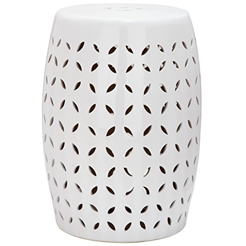 Safavieh Castle Gardens Collection Lattice Petal Ceramic