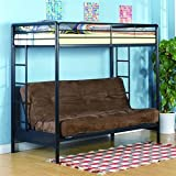 Loft Bunk Bed with Futon, Twin