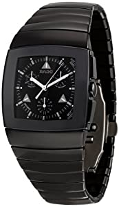 Rado Men's R13764152 Sintra Black Dial Watch